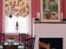 ideas for kitchen curtains kitchen curtain ideas hgtv
