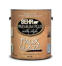 faux glaze paint behr premium plus with style behr