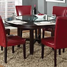 Silver Dining Table And Chairs Steve Silver Hf6262t Hartford 62 Dining Table In Burnished Dark