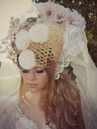 headdress for wedding bridal headpiece wedding bridal white headdress tiara