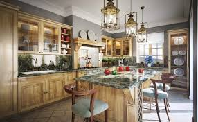 breathtaking rustic kitchen lighting of rustic brass pendant light