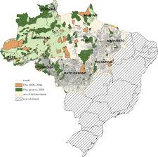 Amazon Seattle Map by Protected Area Types Strategies And Impacts In Brazil U0027s Amazon