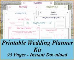 free wedding planning book free wedding planning book expense report