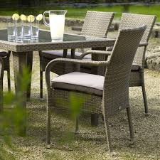 6 seater patio furniture set dining room chic small rattan dining set with glass top table by