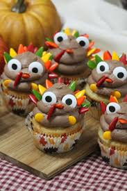 turkey cupcakes thanksgiving treat for and the