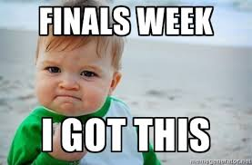 Good Luck On Finals Meme - good luck everyone art history archaeology