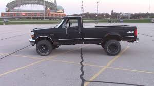 Old Ford Truck Lifted - f150 4 inch suspension lift kit install 1992 rough country youtube