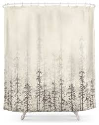 forest home shower curtain contemporary shower curtains by
