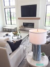 Farmhouse Livingroom by Remodelaholic Get This Look Modern Farmhouse Living Room