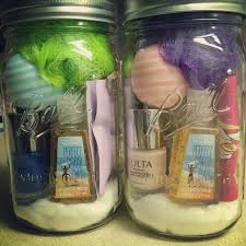 the spa in a jar is a great idea for girlfriends everything they