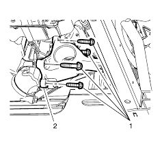 repair instructions on vehicle engine rear mount bracket