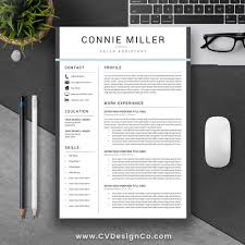 most popular professional resume template elegant cv cover