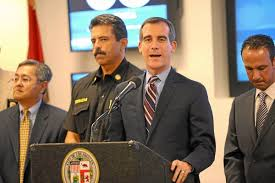 garcetti fire response times u0027stunk u0027 vows to shorten them