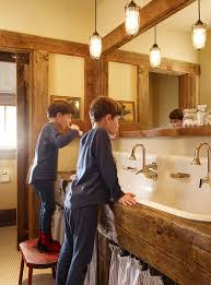 how big are sinks traditional by robert kelly great for mountain cabin look how big