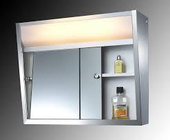 Bathroom Mirror Cabinet Medicine Cabinet With Sliding Doors Amazon Com Bathroom Mirror W