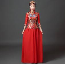 wedding dress costume shanghai story traditional wedding dress qipao national