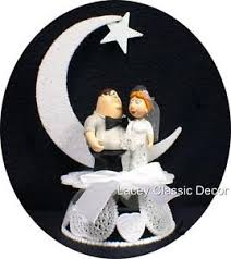 this guy loves his family funny wedding cake topper white peter
