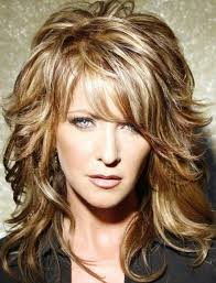 hairstyles for women over 60 with double chin charming curly shag curly shag haircuts for short medium long