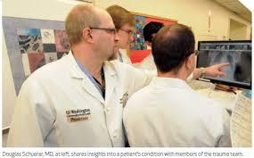 Barnes Jewish Hospital Mo Trauma Services Q U0026 A With Douglas Schuerer Md Director Of