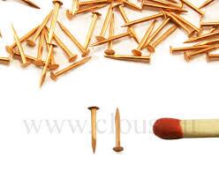 nails forged nails and tacks flat head miniature copper nail 30g