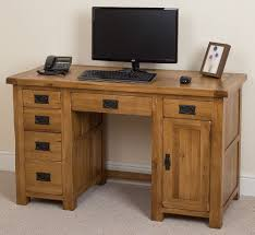 Computer Desk Ebay by Cotswold Solid Oak Rustic Wood Pc Computer Desk Home Workstation