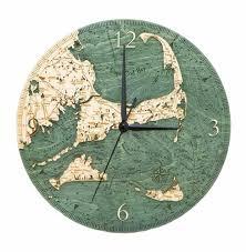 custom wood charts of cape cod and islands real wood decorative
