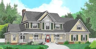 country farmhouse plans 3 or 4 bedroom country farmhouse plan 6542rf architectural