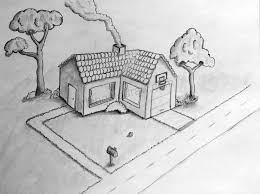 houses drawings drawing pencil sketches of simple houses fun things to draw