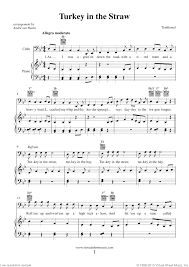 thanksgiving collection sheet for cello and piano