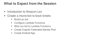 amazon black friday tickets aws re invent 2016 new launch workshop hands on with amazon lex a u2026