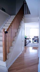 Banister Rail And Spindles Color For Stair Rail And Banister Apartment Therapy