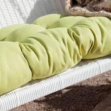 Blazing Needles Patio Cushions by Blazing Needles All Weather Outdoor Porch Swing Cushion 42 5l X