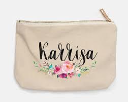 Bridal Makeup Bags Bride Makeup Bag Bride Gift Bridal Shower Gift Bride Gift