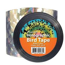 How To Scare Birds Away From Patio by Aspectek Holographic Bird Scare Ribbon Tape Repellent Bird