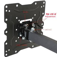 How High Should I Hang A Picture by Amazon Com Videosecu Ml531be Tv Wall Mount For Most 22