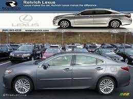 2013 lexus es 350 colors 2013 nebula gray pearl lexus es 350 75161387 gtcarlot com car