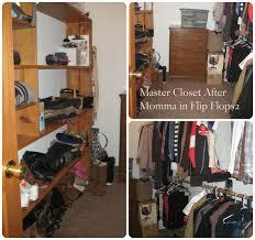messy closet organizing my closet momma in flip flops