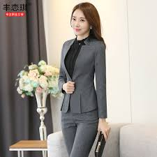 buy women wear suit pants ladies dress suit female interview dress