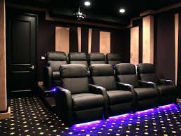 3 seat home theater recliner black contemporary theater seating