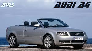 audi a4 convertible 2002 avis audi a4 cabriolet 2e generation 2002 2009