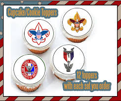 eagle scout cake topper eagle scout court of honor boy scout edible cookie toppers