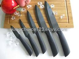 black kitchen knives ceramic kitchen chef knife with black matt blade purchasing