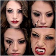 pretty beautiful u0026 scary vampire halloween makeup ideas