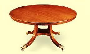 round mahogany dining table barton sharpe regency round mahogany dining table