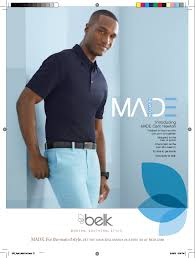 belk unveils made by cam newton designs with mailer gq ads