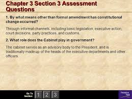 The Cabinet In Government Magruder U0027s American Government Ppt Download