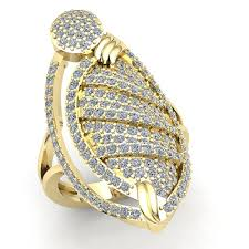 gold hand rings images 5ctw round cut diamond womens fancy anniversary right hand ring jpg