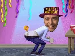 Happy Birthday Meme Gif - birthday happy birthday funny gif birthday happybirthdayfunny