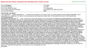 awesome instructional designer cover letter 97 in cover letter