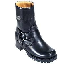 harley motorcycle boots harley davidson 84187 women s ashby black leather biker boot